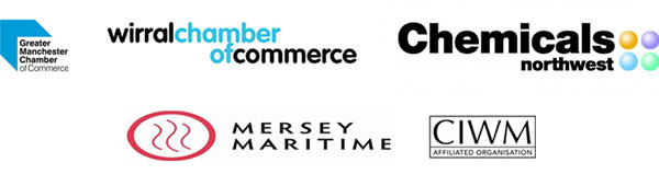 Greater Manchester Chamber of Commerce, Wirral Chamber of Commerce, Chemicals Northwest, Mersey Maritime, CIWM Affiliated organisation
