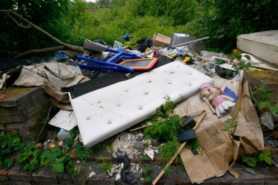 How fly tipping has seen an increase during the pandemic